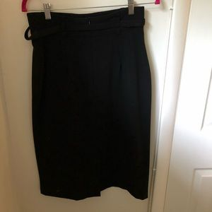 Black professional pencil skirt